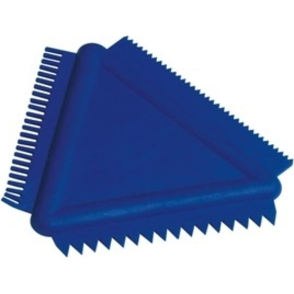 Треугольный скребок-гребенка stmdecor ms14