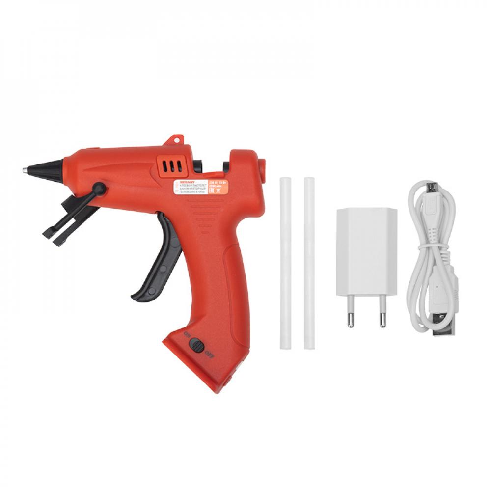 Аккумуляторный клеевой пистолет rexant эксперт 12-1501