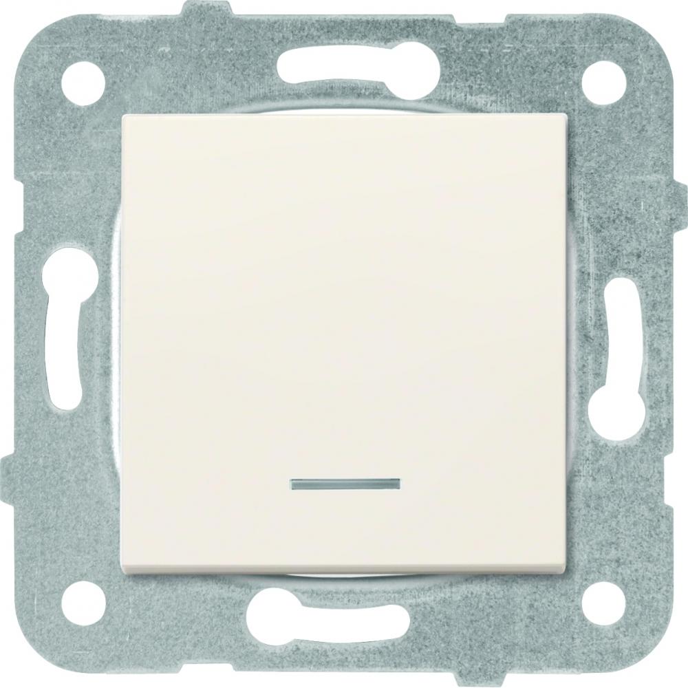 Купить Выключатель panasonic модуль 1кл с подсветкой крем karre plus 54901 wktt0002-2bg-res