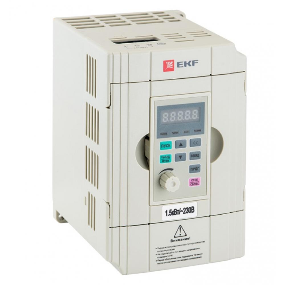 Купить Преобразователь частоты ekf 1, 5/2, 2квт 1х230в vector-100 proxima sqvt100-1r5-1b