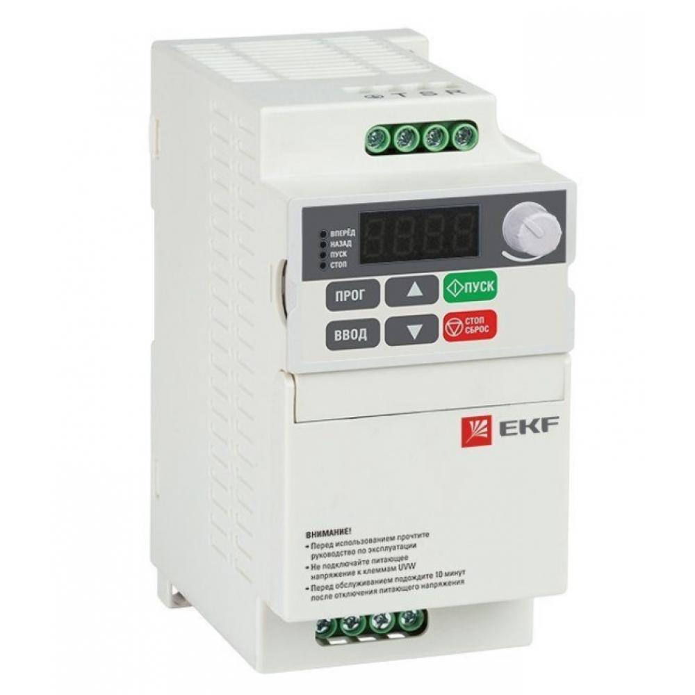 Преобразователь частоты ekf 0,7 квт 1х230в vector-75 compact basic sqvt75c-0r7-1b