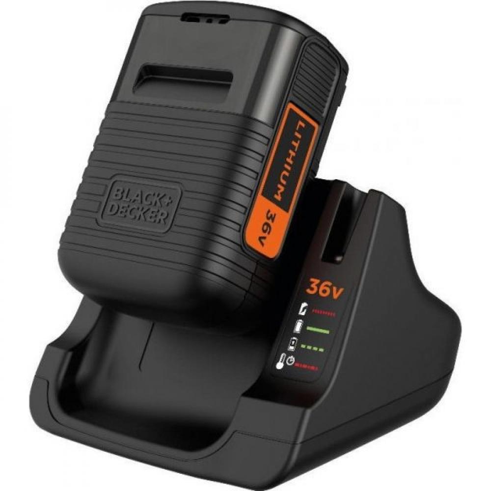 Аккумулятор с быстрым зарядным устройством kit black&decker bdc2a36-qw