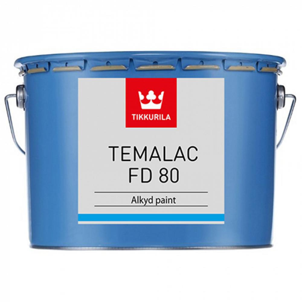 Купить Алкидная краска tikkurila industrial темалак фд80 tvl 2, 7 л 18072260130