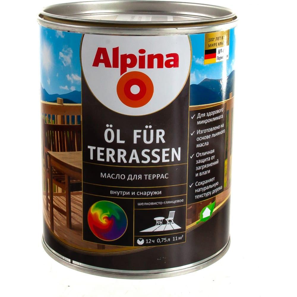 Масло alpina new ol fur terrasen
