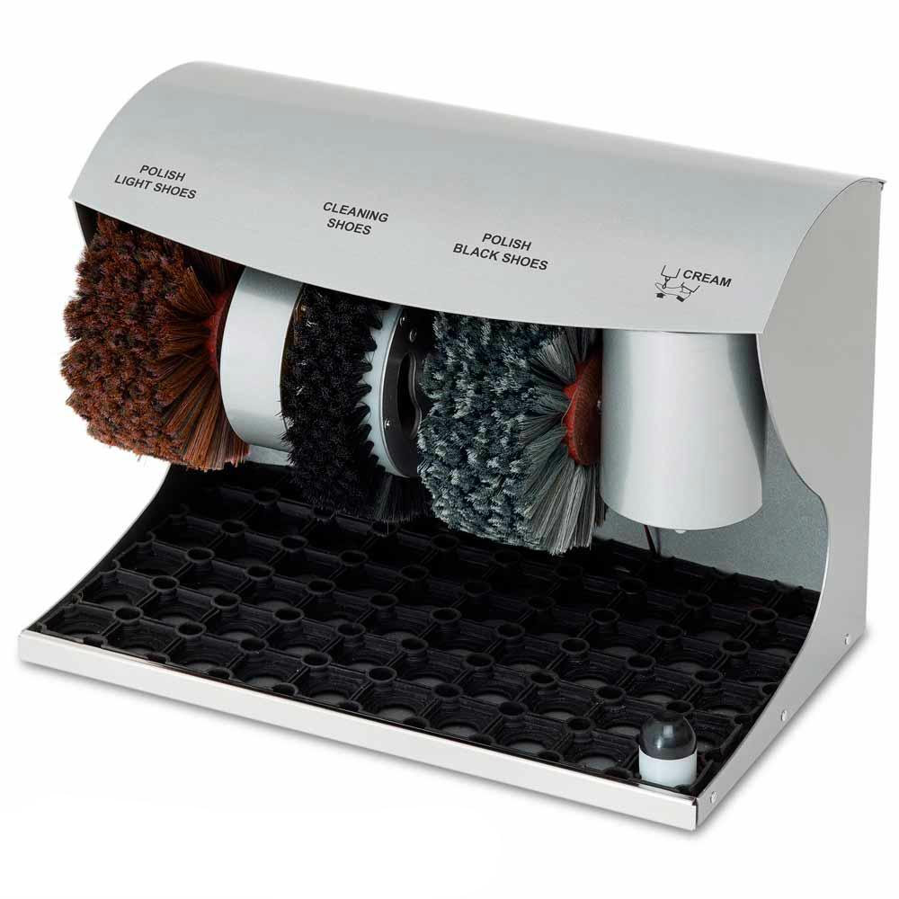 Купить Автоматическое устройство чистки обуви eco line эко полирол серый 4627180898881