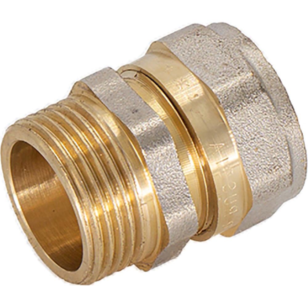 Соединение стм наружная резьба, 16х3/4 ccm01634  - купить со скидкой