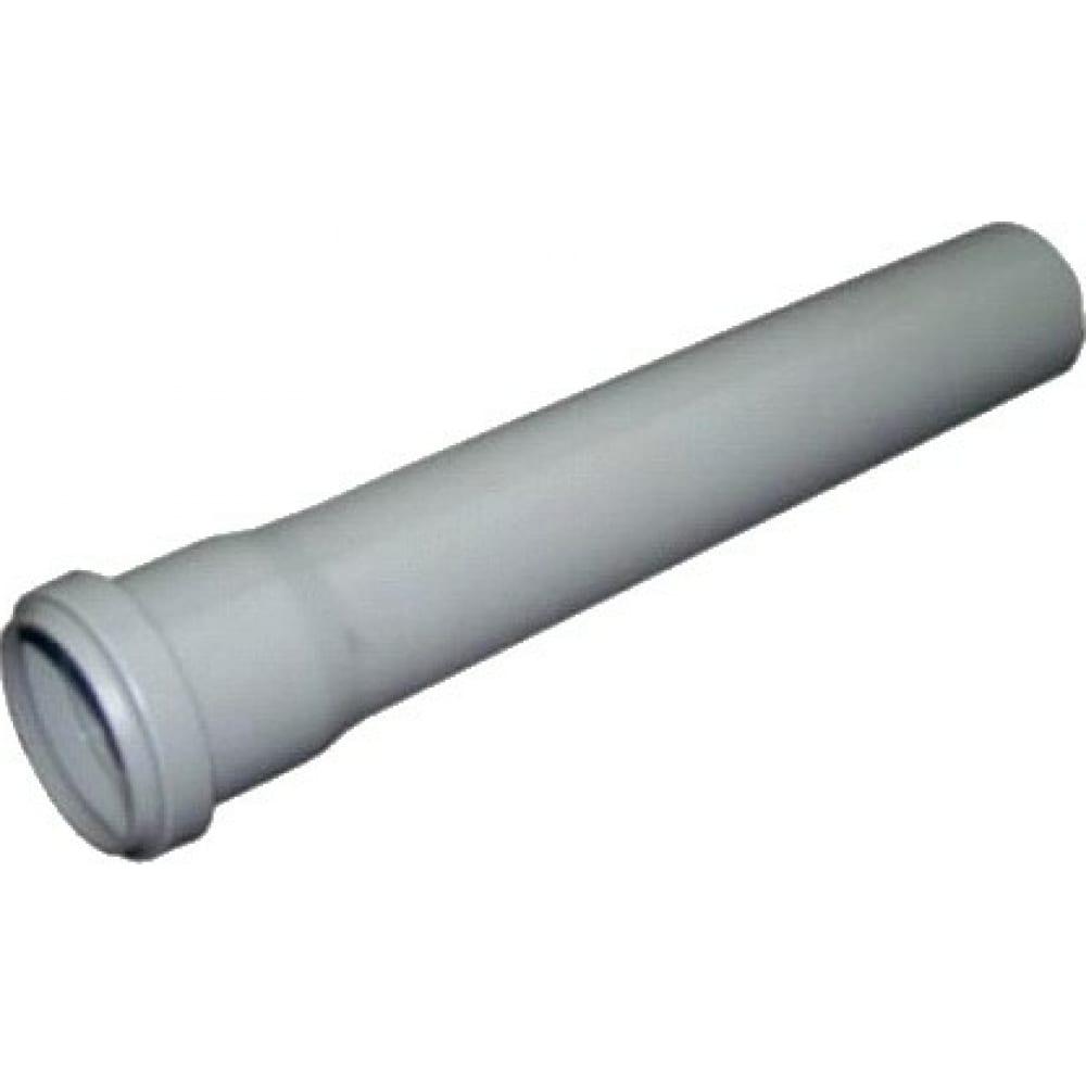 Канализационная труба атлас пласт dn 110х2,7, l=750