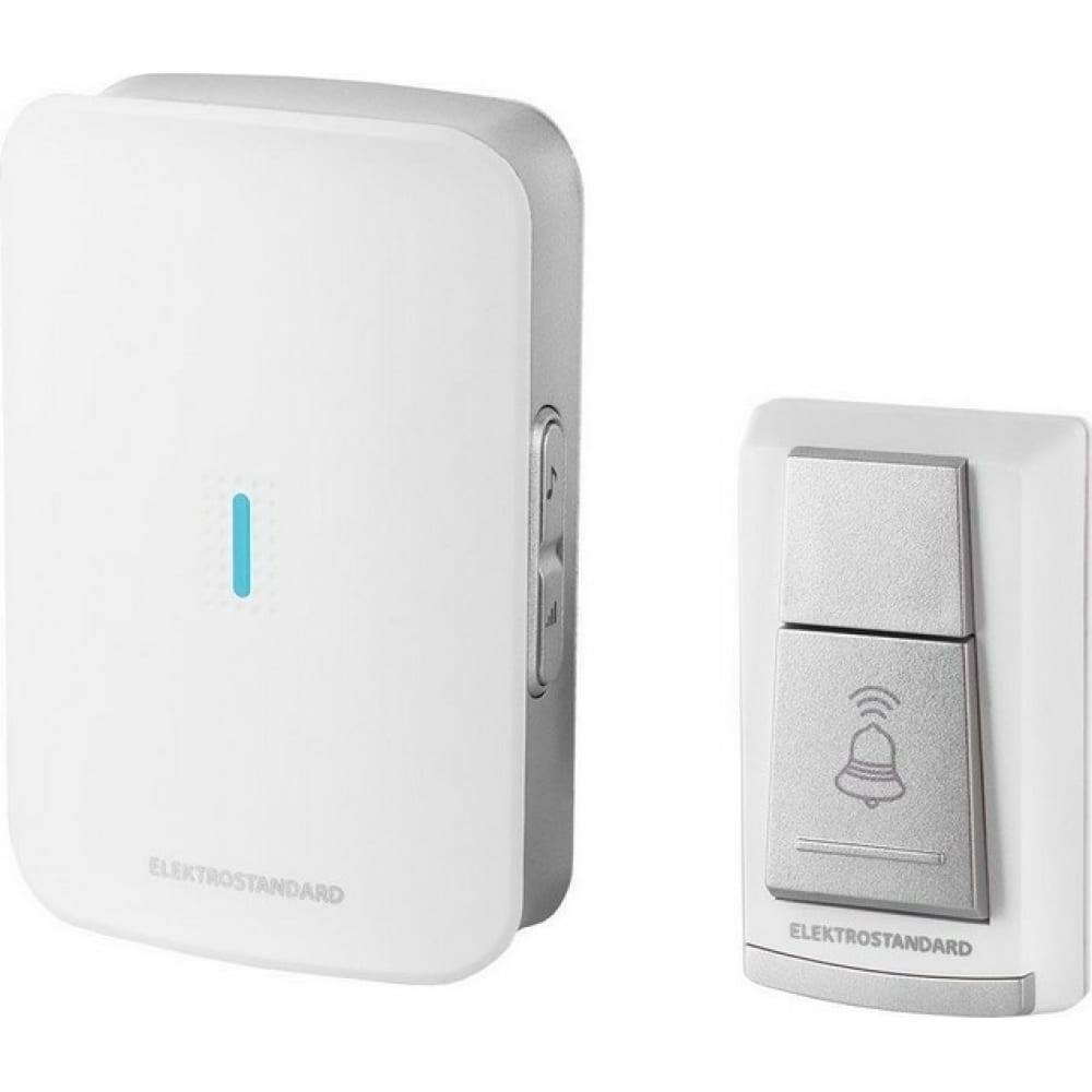 Электрический бытовой дверной звонок elektrostandard dbq19m wl 36m ip44 белый a044637