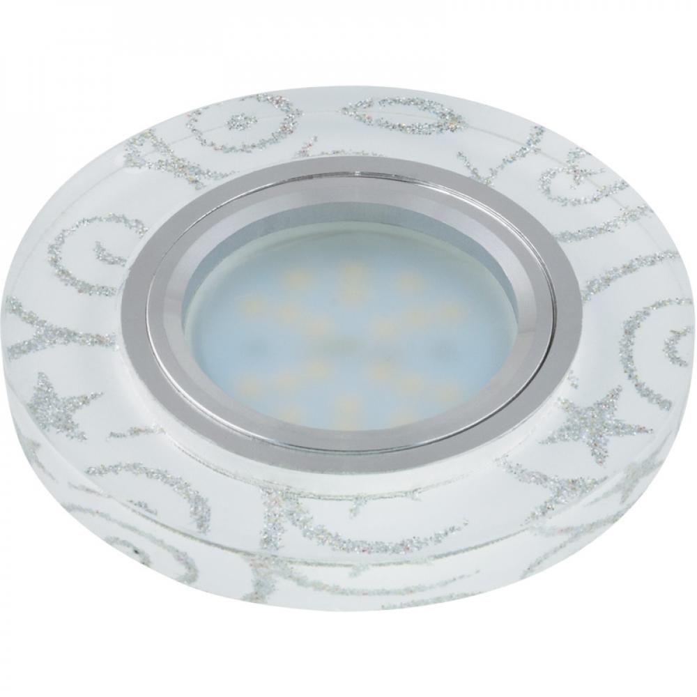 Купить Встраиваемый декоративный светильник fametto peonia dls-p202 gu5 3 10126