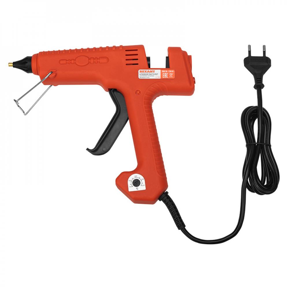 Клеевой пистолет rexant эксперт 12-1550