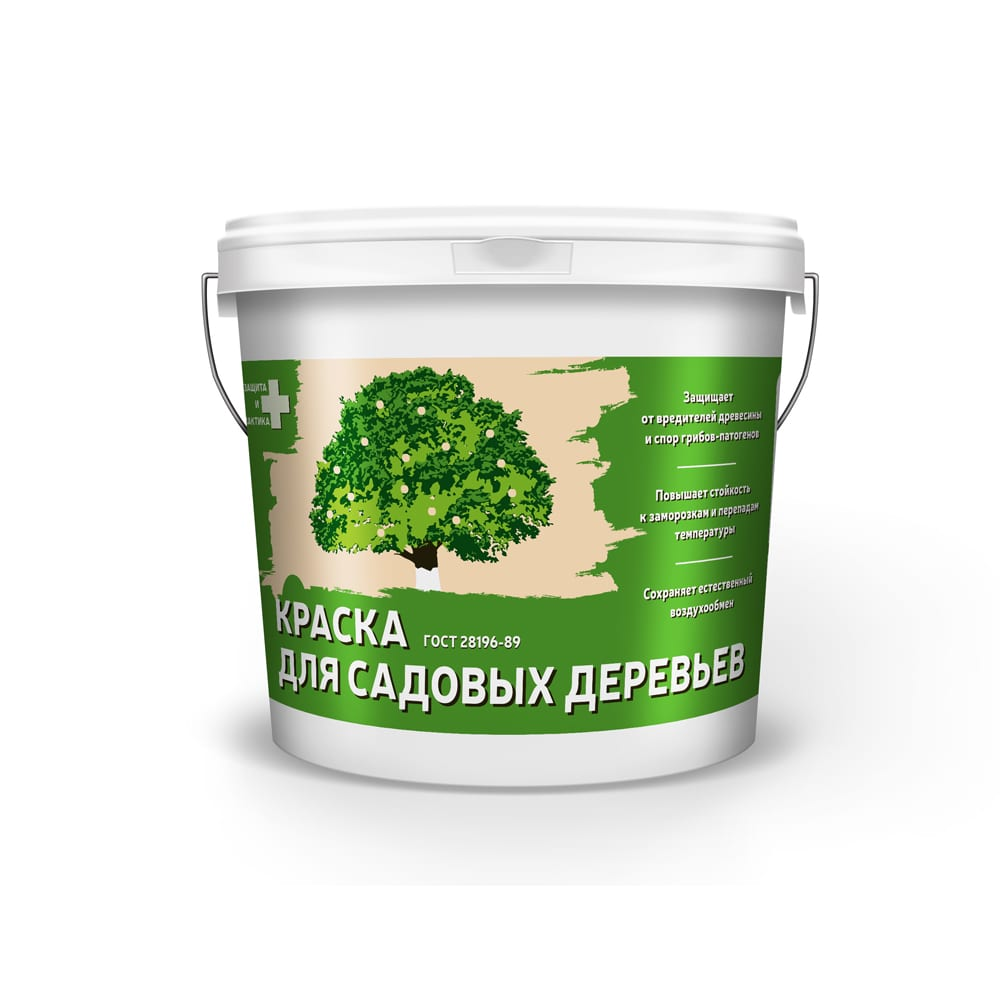 Купить Краска для садовых деревьев krafor 1, 2 кг 6 альфа 51673
