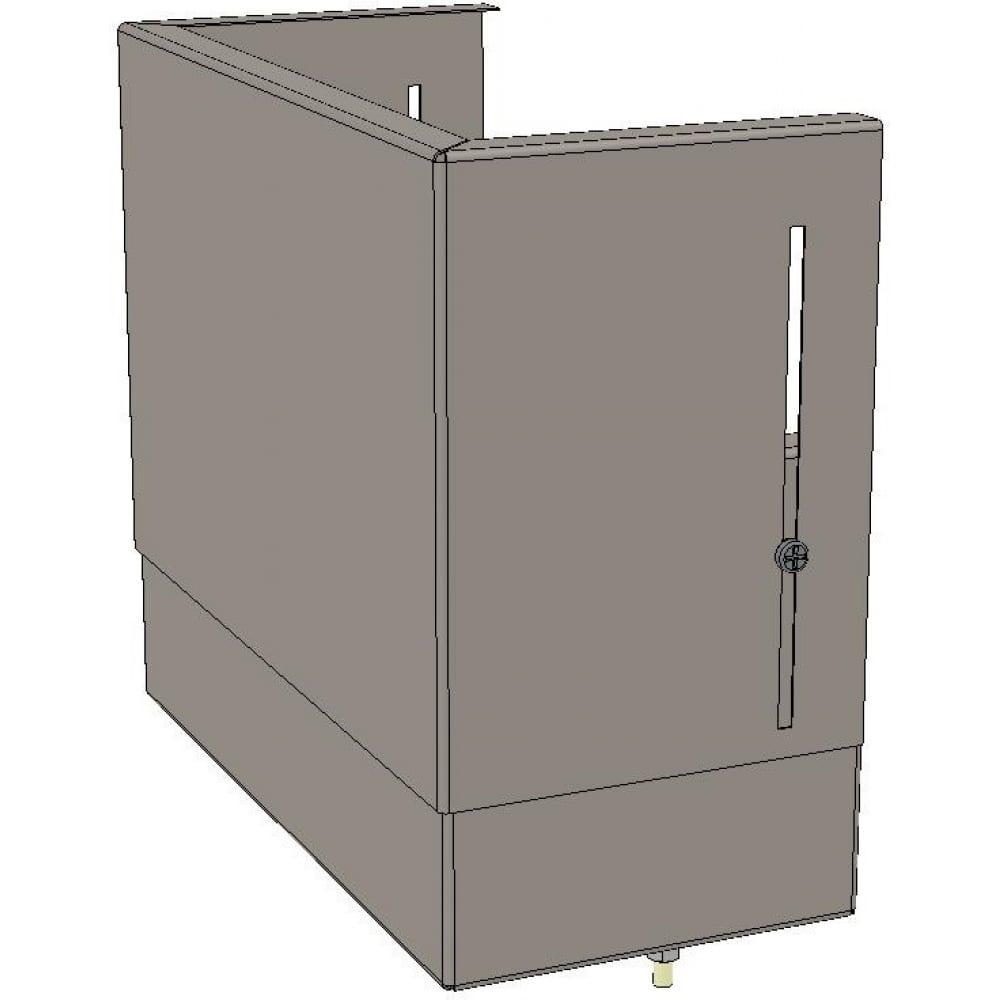 Цоколь ekf верхний, с компенсатором, 260х300х150мм, basic squerm-slide-260