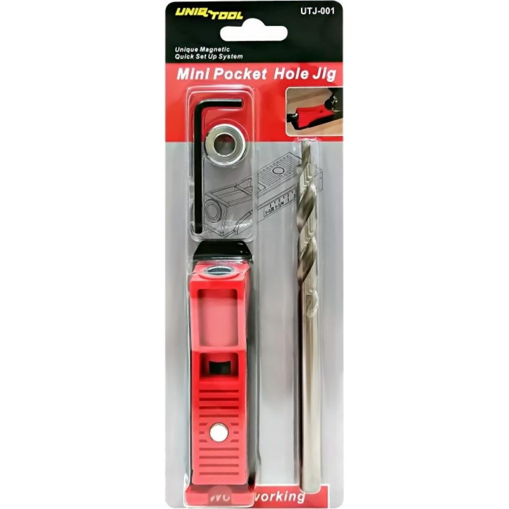 Купить Приспособление для соединения саморезами mini pocket hole jig uniq tool utj-001