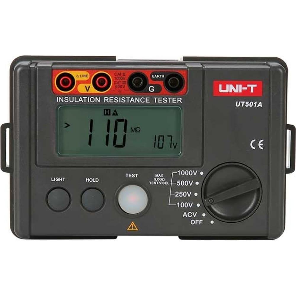 Купить Цифровой измеритель сопротивления изоляции uni-t ut501a 00-00000182