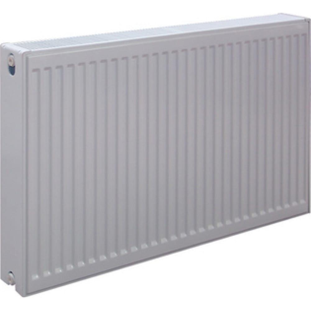 Купить Стальной панельный радиатор rommer ventil нижнее подключение, 33/500/700 rrs-2020-335070