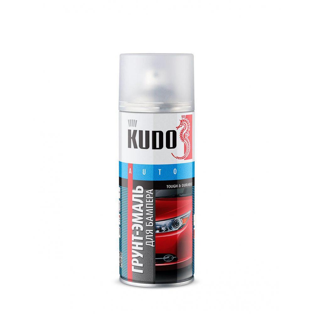 Эмаль для бампера kudo черная 520