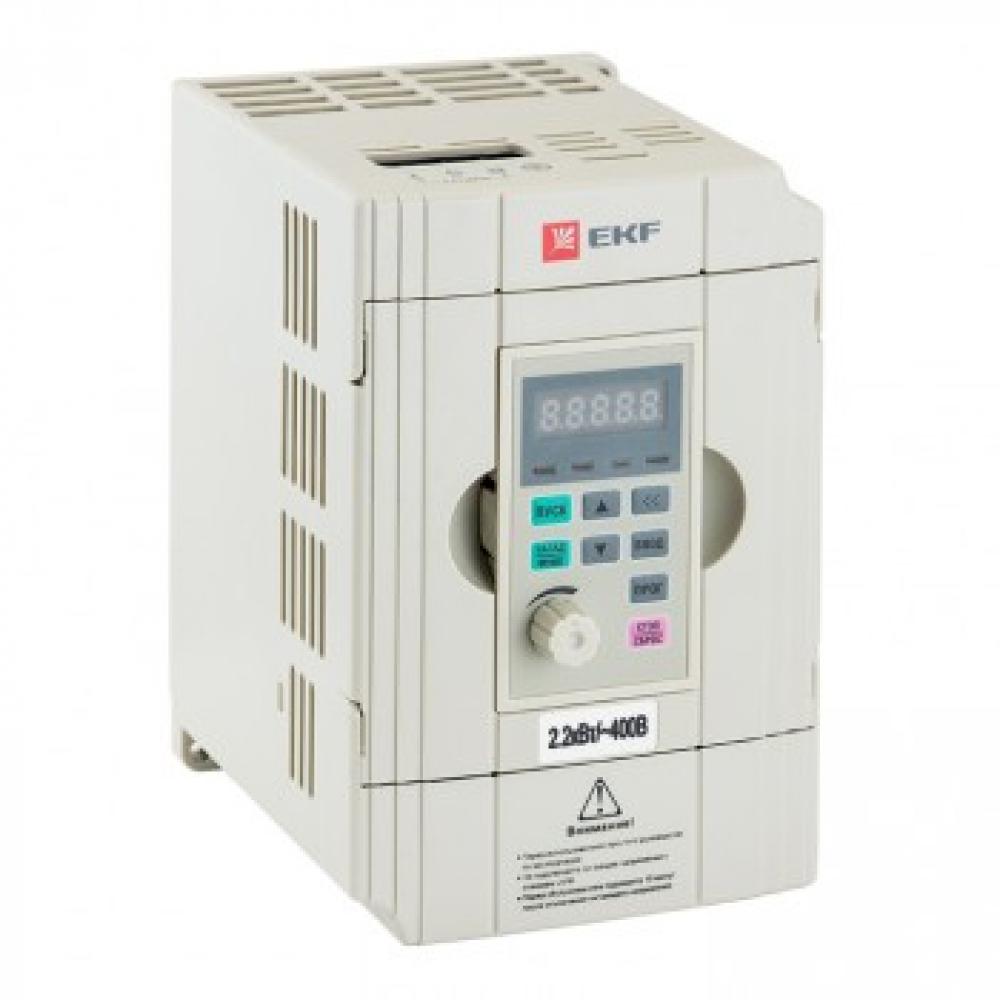 Преобразователь частоты ekf, 2,2/4квт, 3х400в, vector 100,