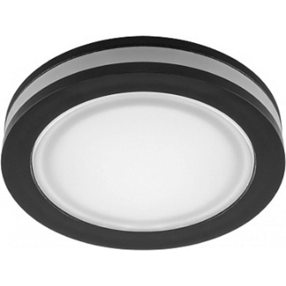 Купить Встраиваемый светодиодный светильник feron al600 7w, 560 lm, 4000к, черный 29569