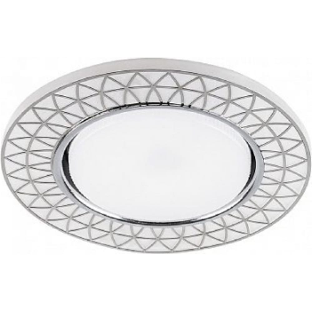 Купить Встраиваемый потолочный светильник с подсветкой feron cd9914 20ledх2835 smd, 4000k, 15w, gx53, без лампы 32982