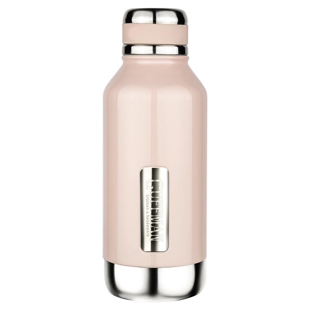 Термос guffman sky 500 мл, розовый перламутр
