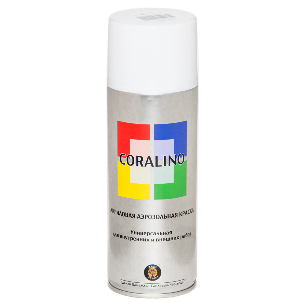 Купить Аэрозольная краска coralino ral9003 белый глянцевый с19003