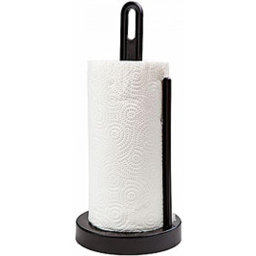 Купить Держатель для бумажных полотенец berossi solo черный ас 19305000