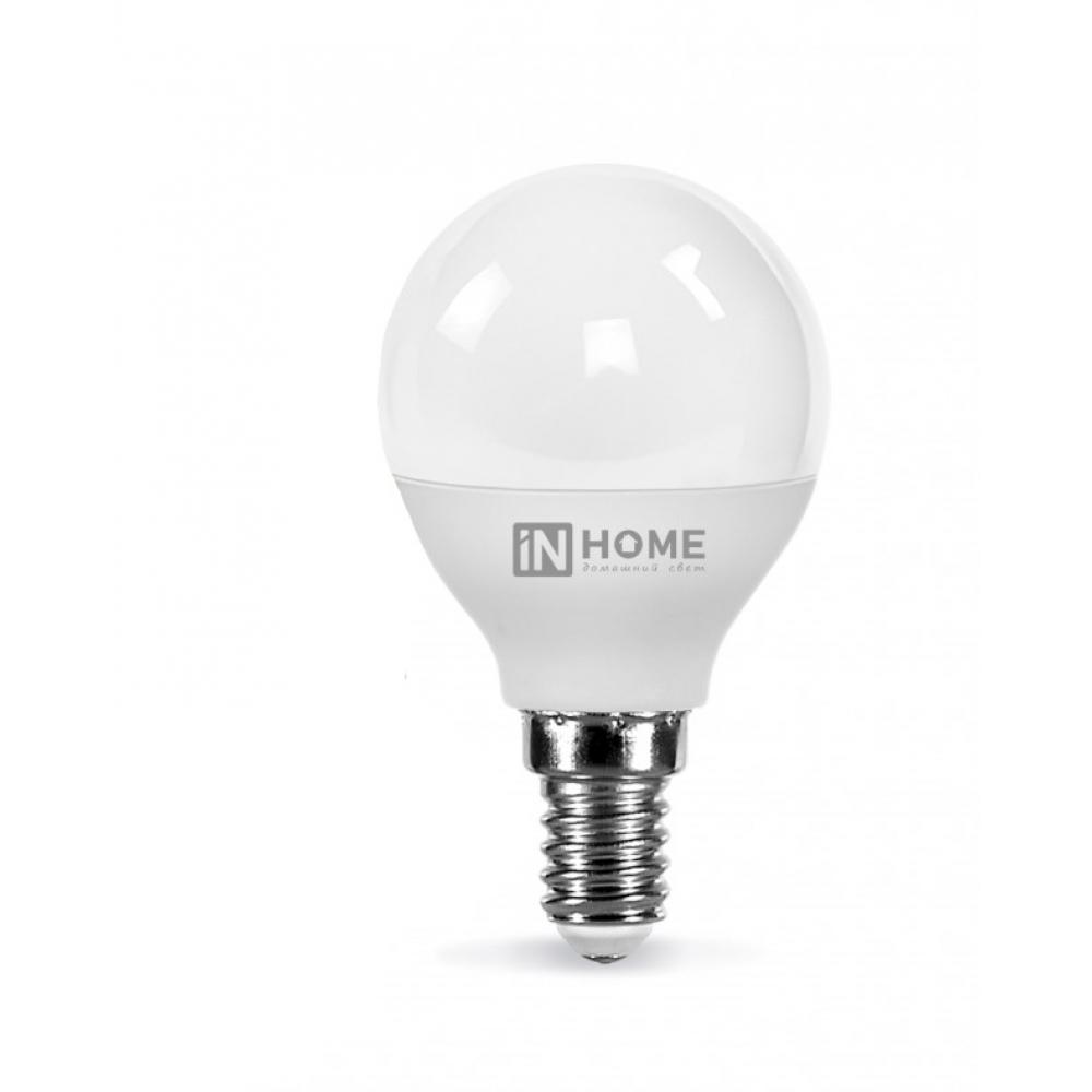 Купить Светодиодная лампа in home led-шар-vc 11вт 230в е14 6500к 820лм 4690612024929