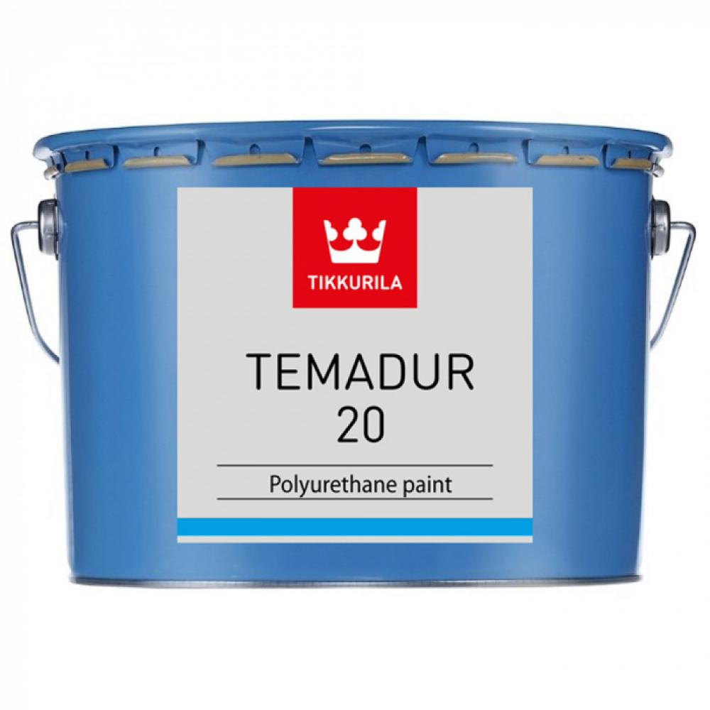 Купить Полиуретановая краска tikkurila industrial темадур, 20 tvl, 2, 25л 11472260330