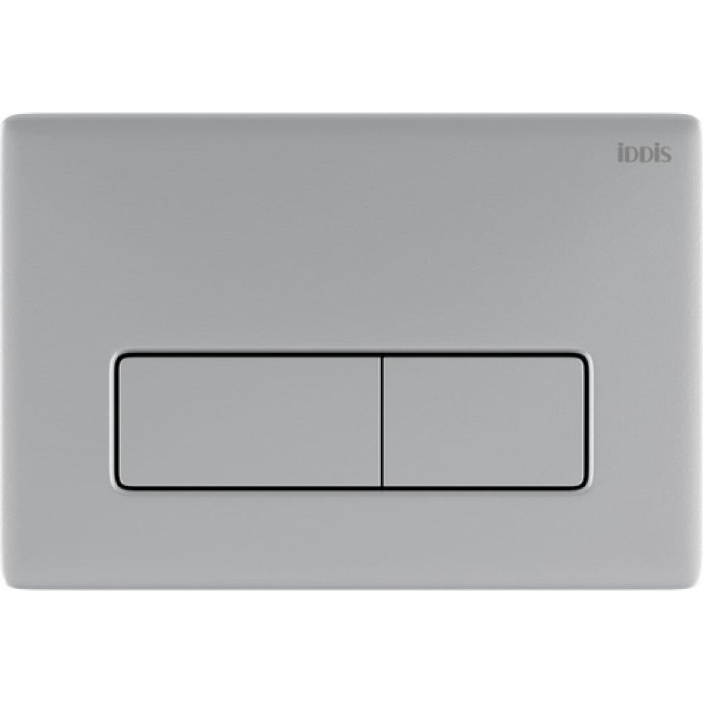 Универсальная клавиша смыва iddis unifix 080 матовый хром uni80m0i77.