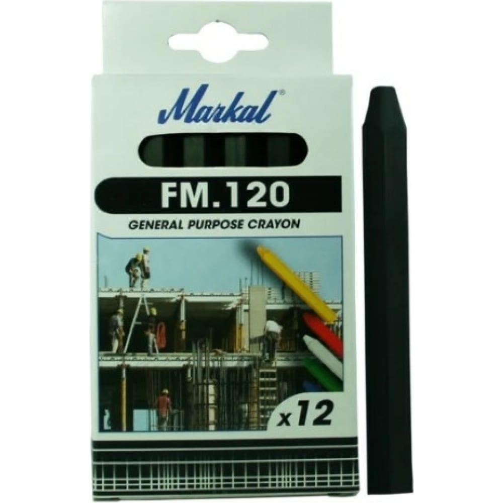 Купить Восковой промышленный мелок markal fm.120 универсальный, чёрный 44010600
