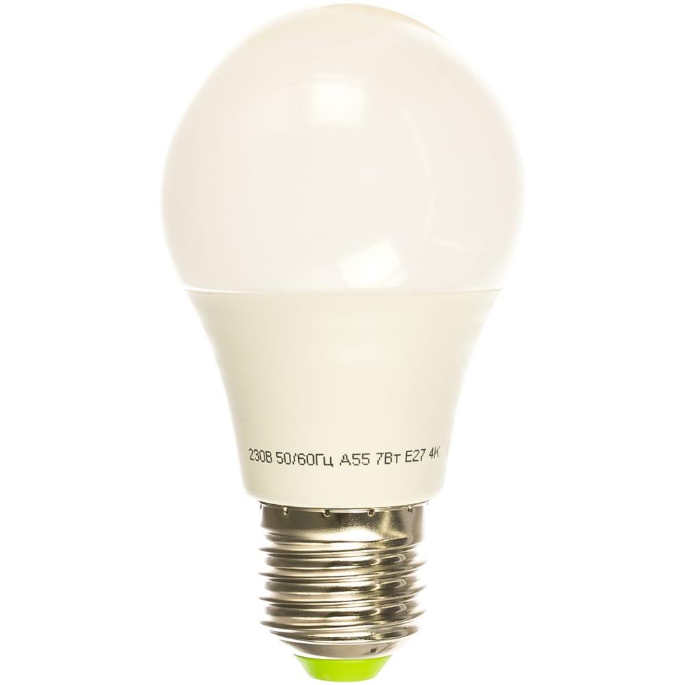 Светодиодная лампа navigator 94 386 nll-a60-7-230-4k-e27 navigator 4607136943865 257788