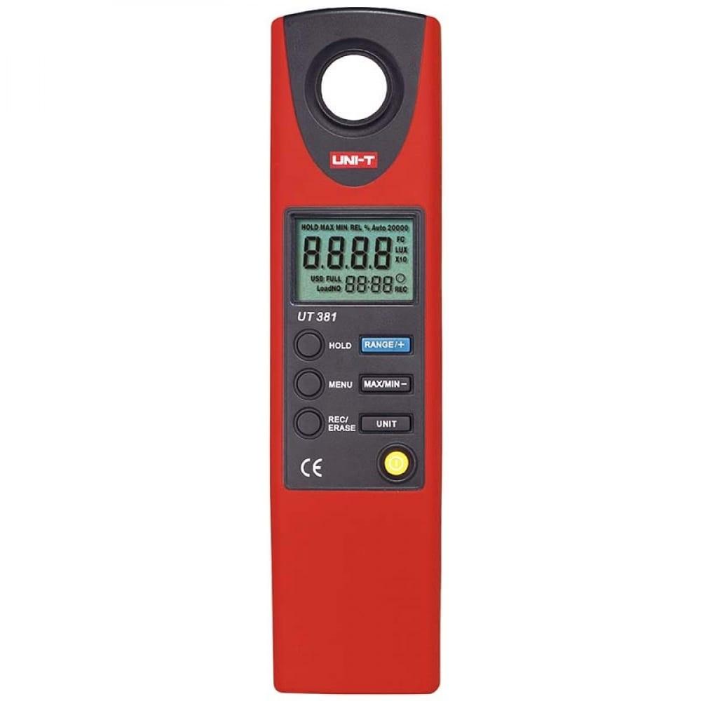Цифровой измеритель освещенности uni-t ut381 люксметр 00-00002291  - купить со скидкой