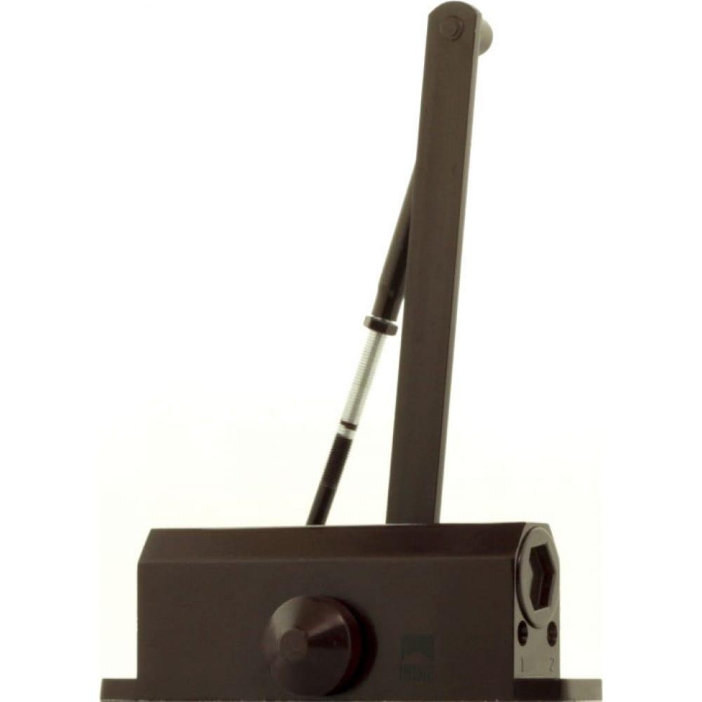 Дверной доводчик home dc-50 цвет коричневый dc50br