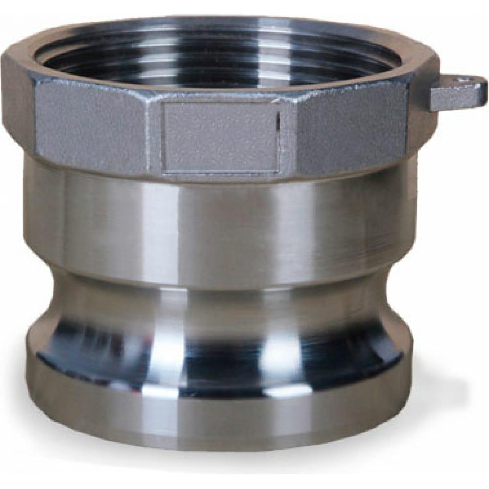 Купить Камлок тип а (ниппель; внутренняя резьба bsp; 100 мм-4 ; нержавеющая сталь) titan lock tl400ass