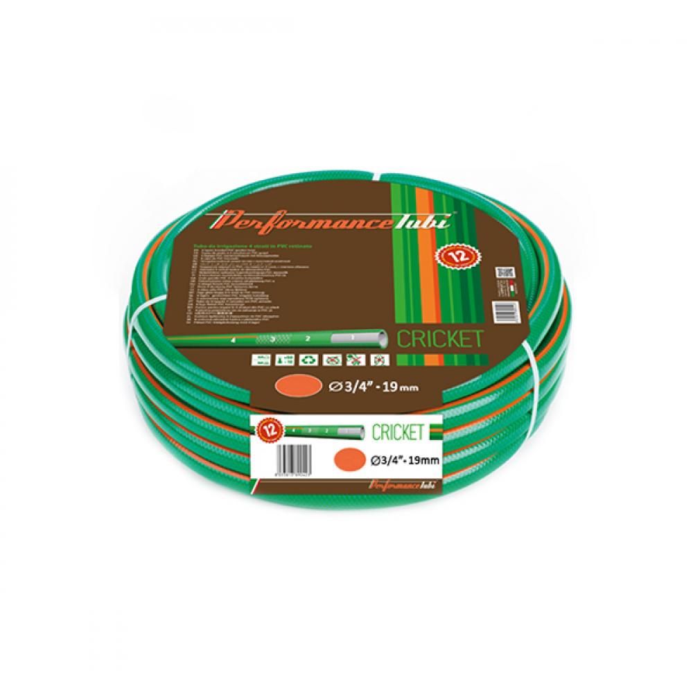 """Армированный 4-х слойный садовый шланг для полива almaplast cricket 3/4"""", 50м 00400190500"""