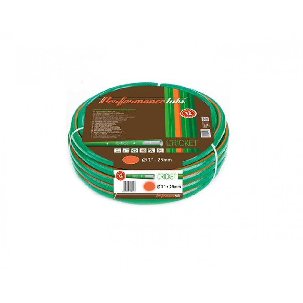 """Армированный 4-х слойный садовый шланг для полива almaplast cricket 1"""", 50м 00400250500"""