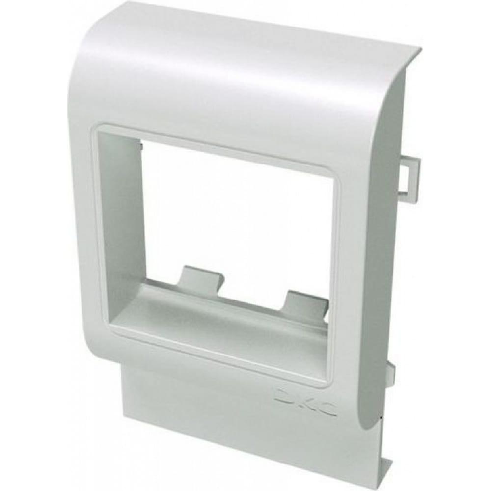 Купить Рамка-суппорт под 2 модуля 45x45мм dkc pda-45n с высотой 100мм 00514