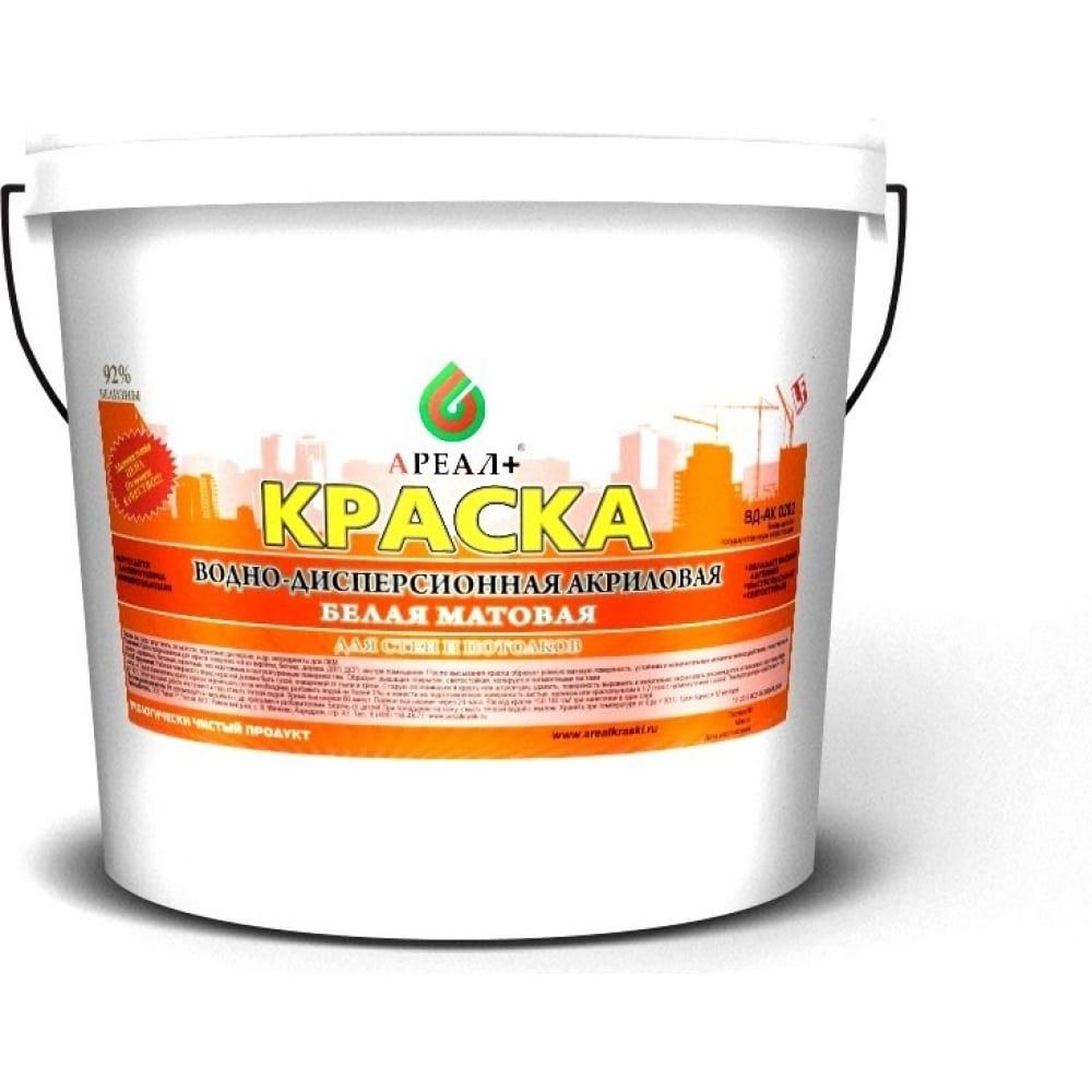 Купить Краска для стен и потолков ареал+ вд-ак 0202 ведро 14 кг а-006