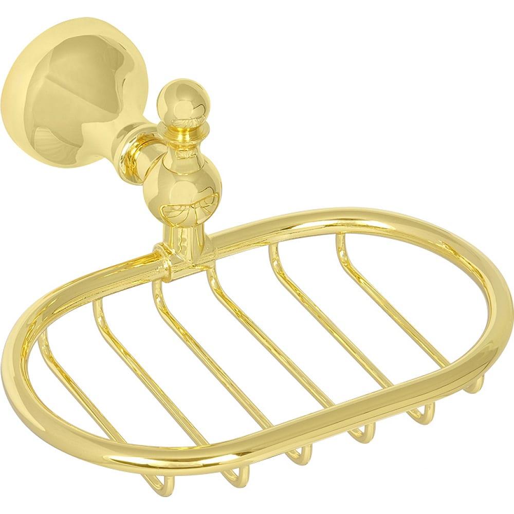 Настенная мыльница решетка veragio gialetta золото vr.gil