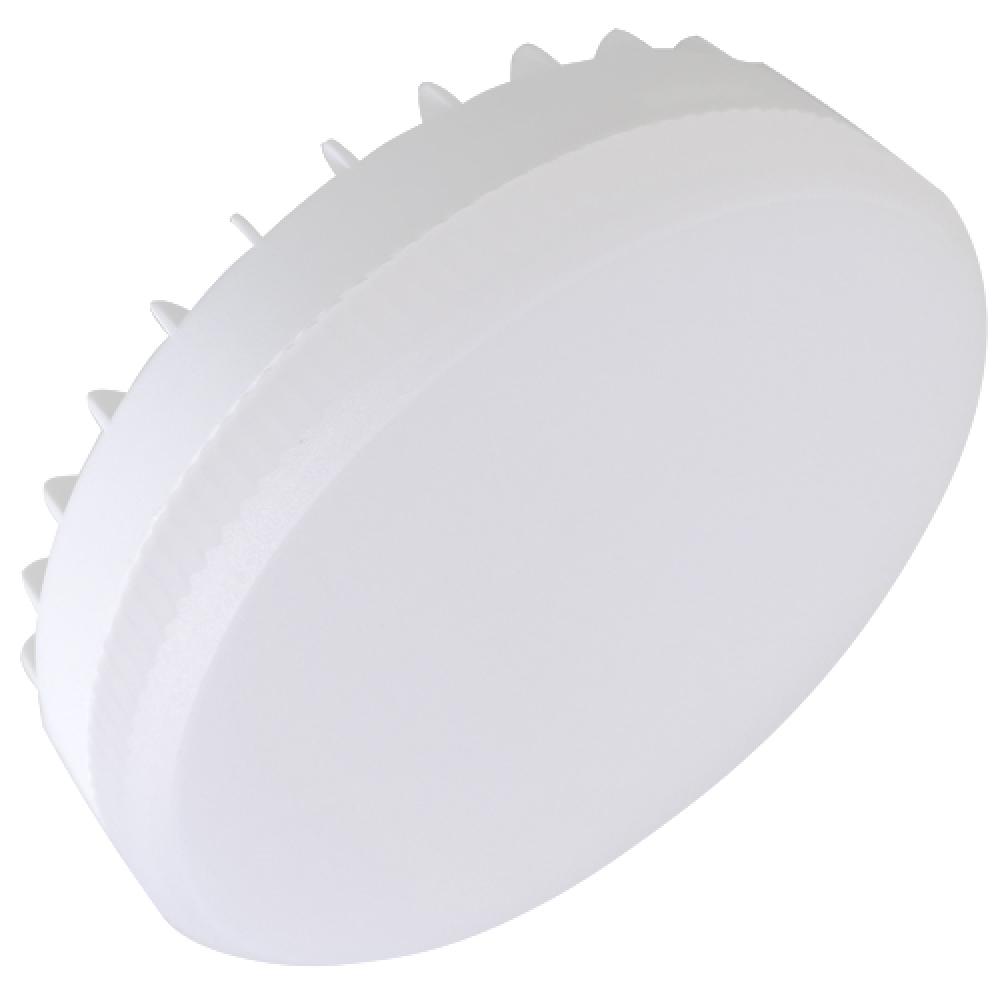 Купить Светодиодная лампа ecola gx53 led premium 12, 0w tablet 220v 6000k матовое стекло /композит/ 27x75 t5ud12elc