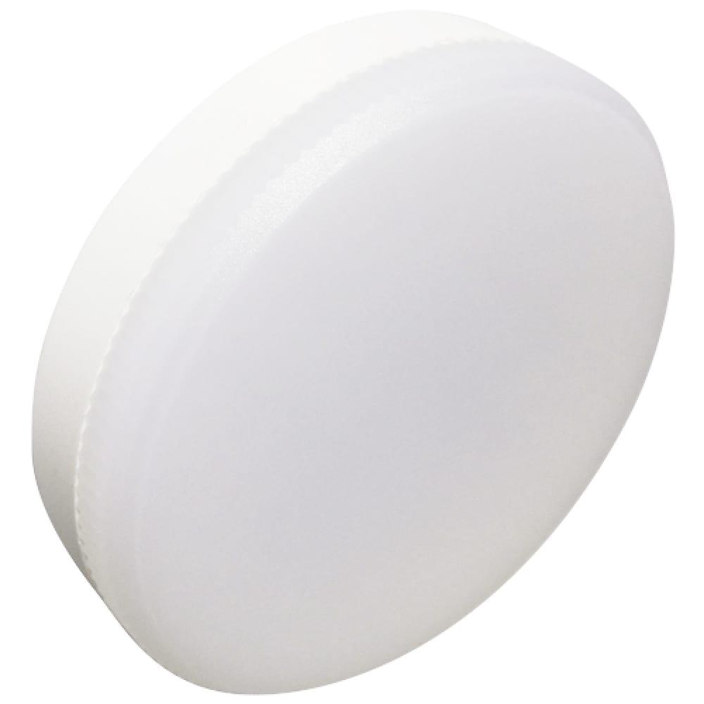 Светодиодная лампа ecola gx53 led premium 15, 0w tablet 220v 4200k матовое стекло /композит/ 27x75 t5uv15elc  - купить со скидкой