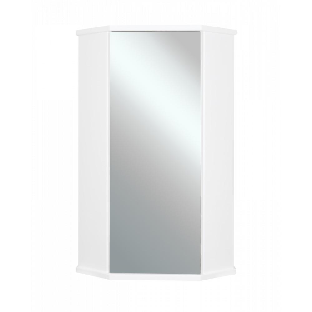 Купить Зеркальный шкаф misty лилия-34 подвесной, угловой э-лил08034-014бф