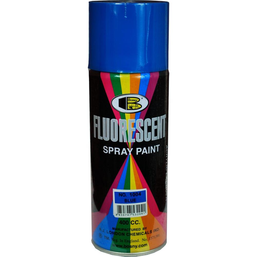 Купить Специальная флюоресцентная краска bosny синий 1004