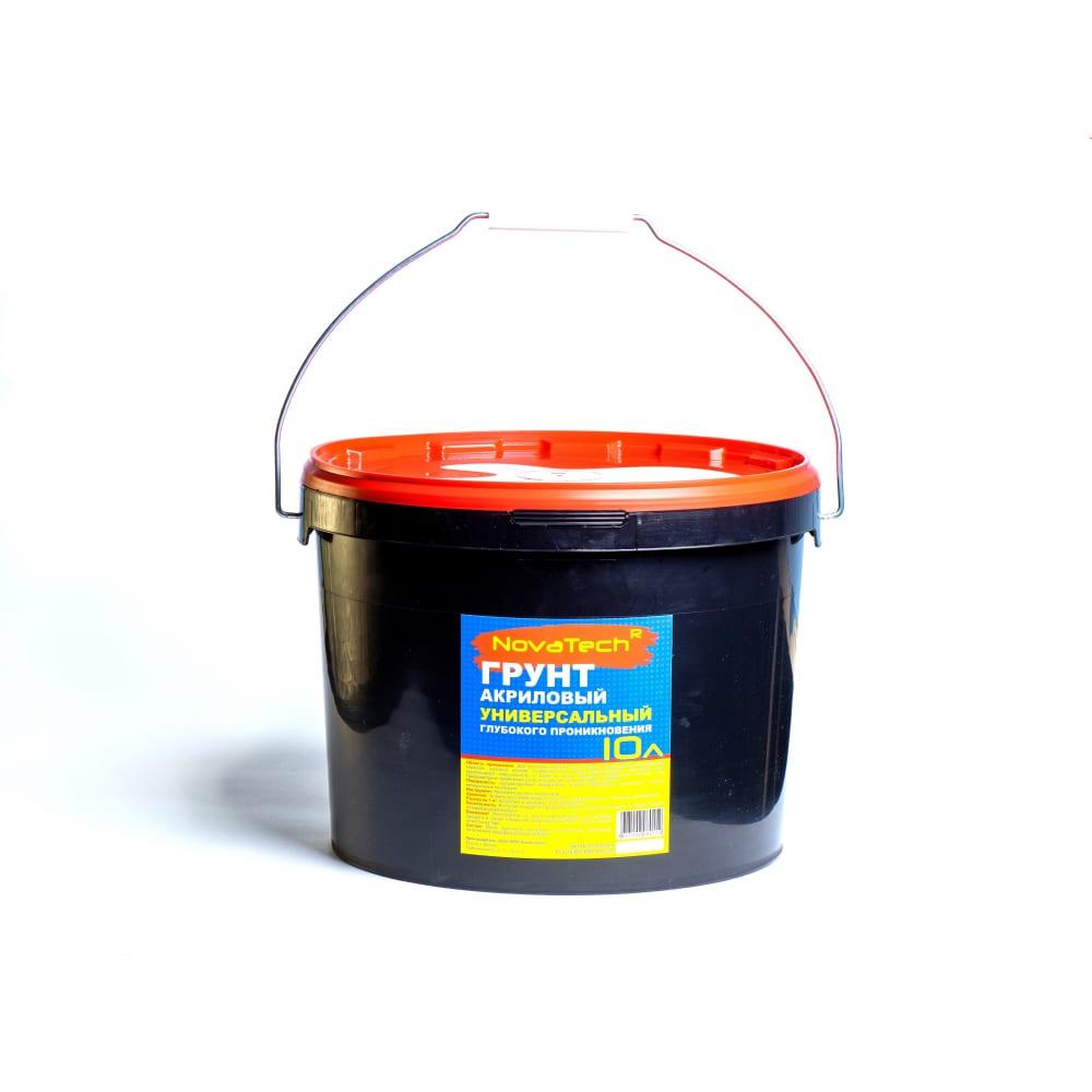 Купить Универсальная грунтовка novatech 10л. 000000290