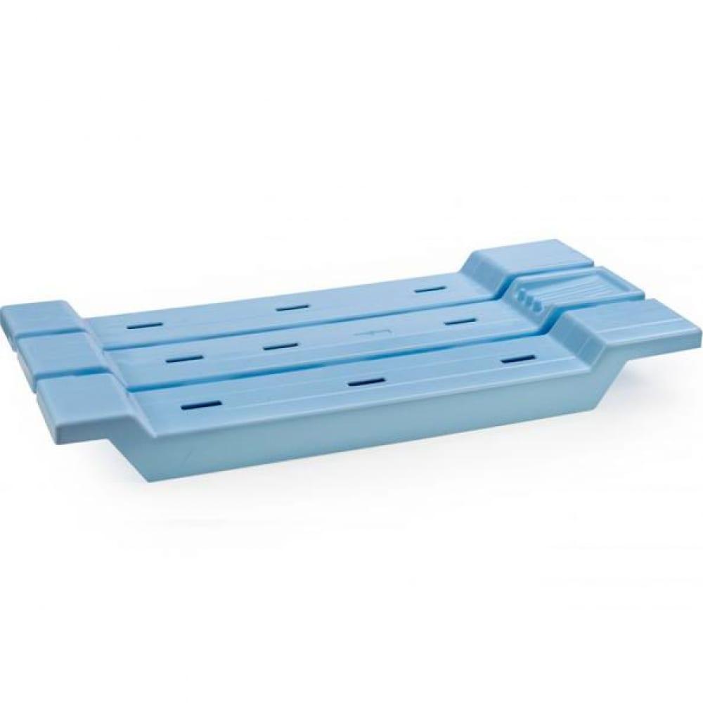 Сиденье для ванной berossi 12608 светло голубое