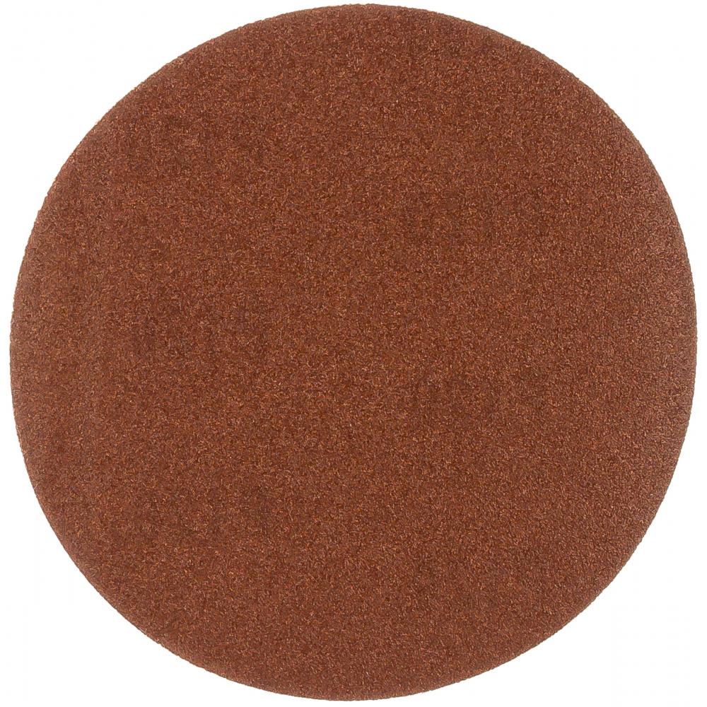 Круг абразивный без отверстия velcro (5 шт; 125 мм; зерно 120) targ 663105  - купить со скидкой