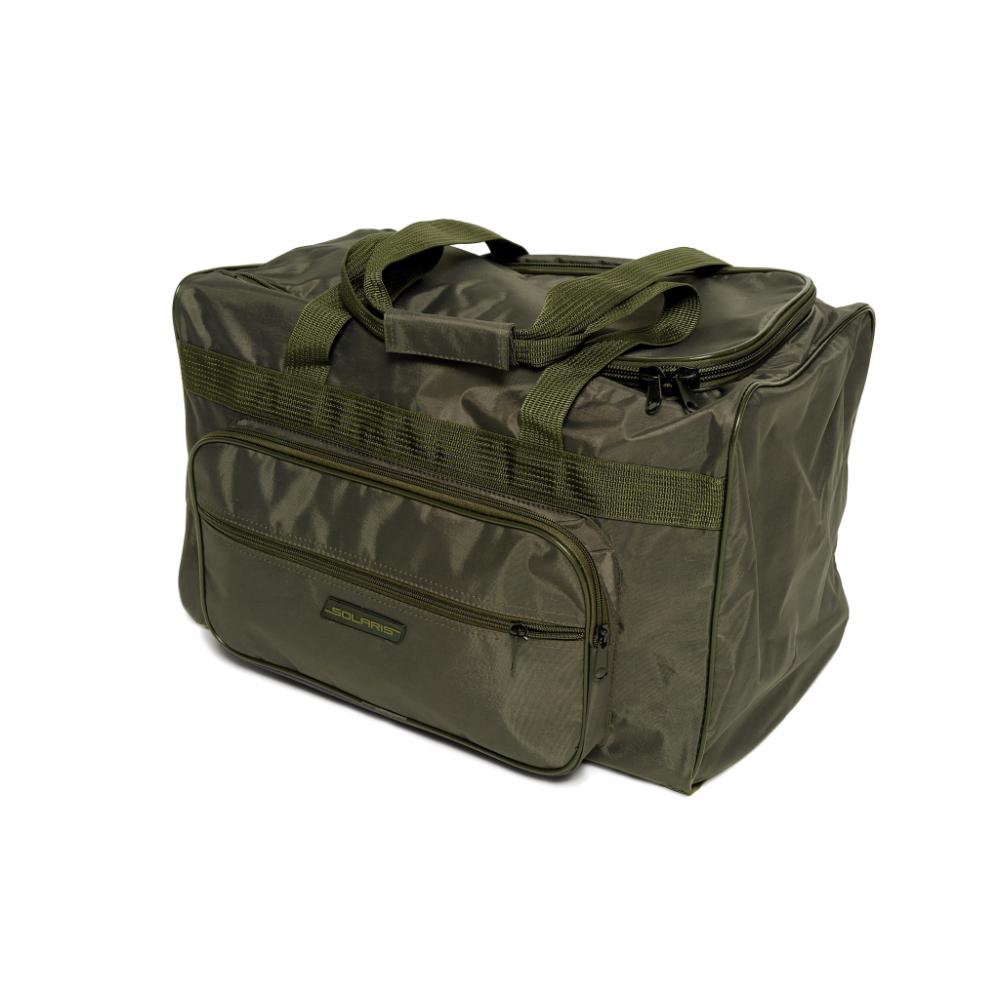 Купить Багажная сумка с боковым карманом solaris 54 л, серый хаки s5124