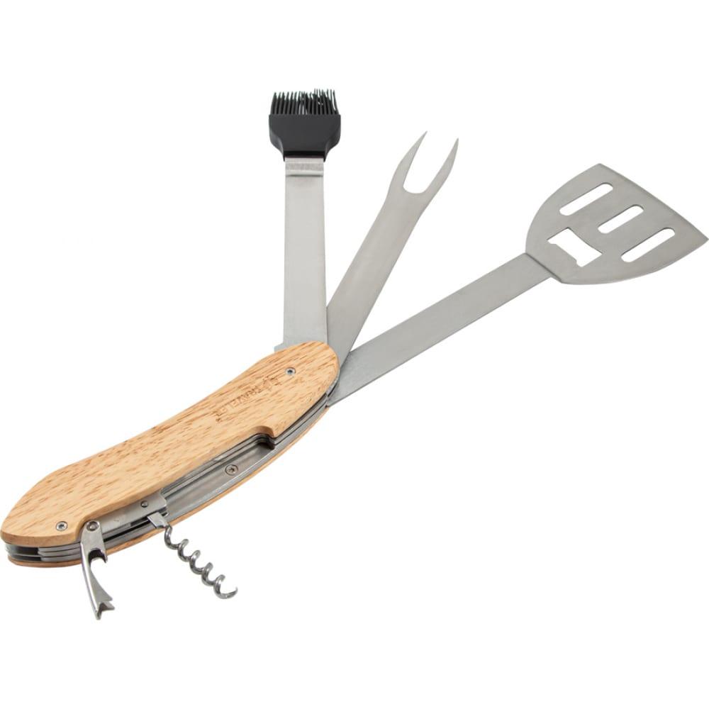 Многофункциональный инструмент для барбекю grun gras в чехле 199231