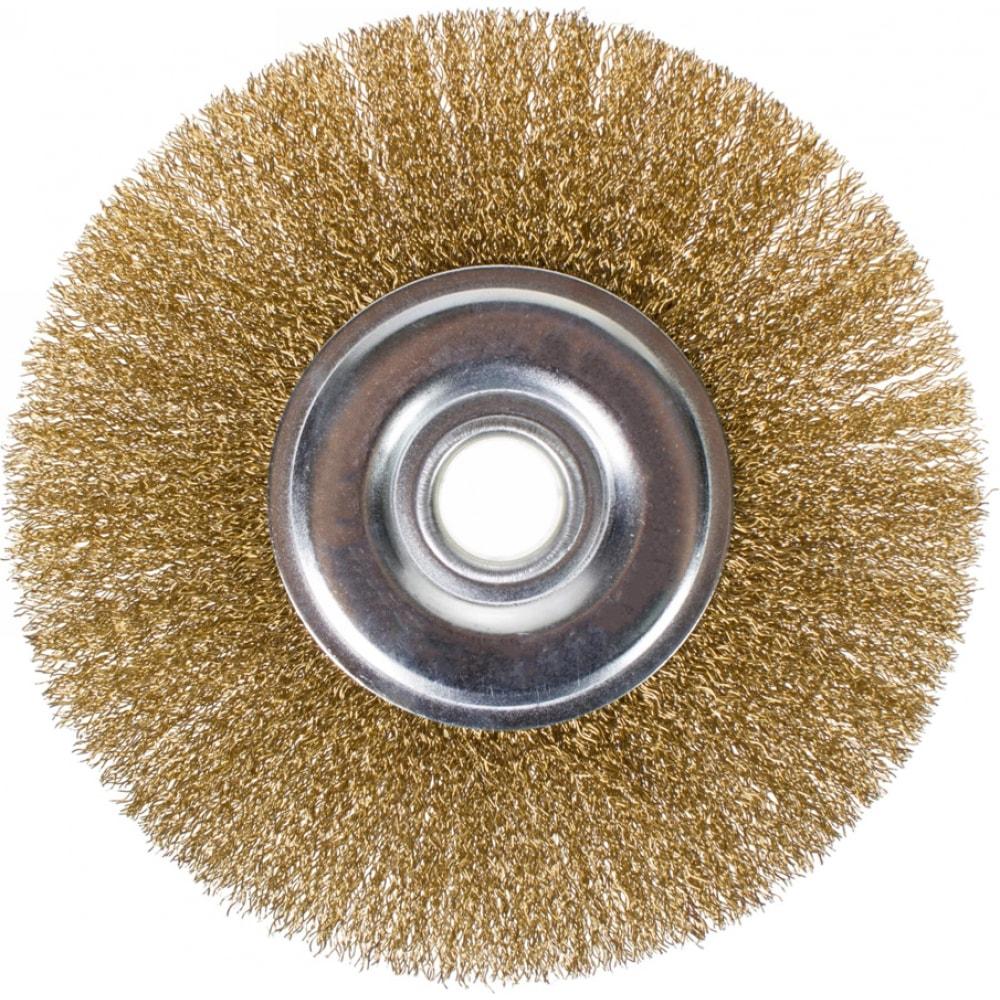 Щетка плоская (100х22.2 мм) для ушм кедр