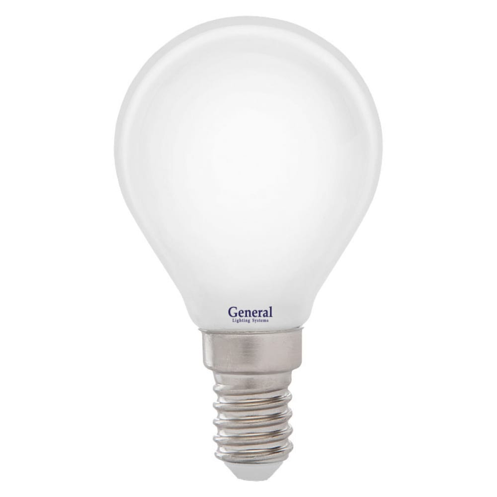 Купить Светодиодная лампа general lighting systems fil шарик g45s-m-7w-e14 649967